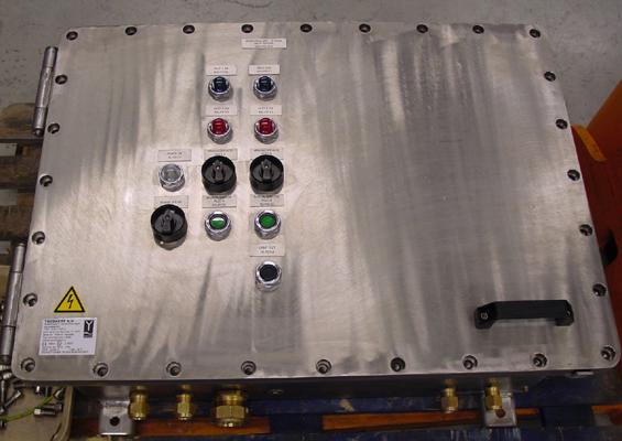 Control box ExdIIB in RVS316
